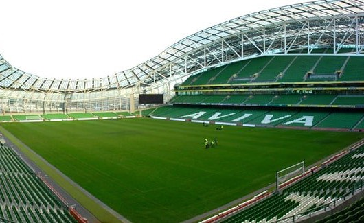 Website-Design - Aviva Stadium